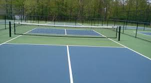 pickleball court surfaces backyard court builders