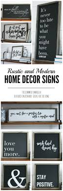 decor signs rustic and modern home decor signs giveaway modern and