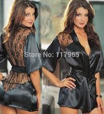 robe de chambre luxe luxe robe chambre peignoir satin dentelle made in eu ça leur plait