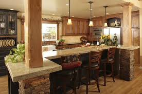 kitchen counter table design kitchen beautiful tuscan kitchen design and decoration using