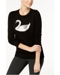 charter sweater find the best deals on charter embellished swan sweater
