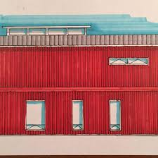 industrial housing shipping container home taking shape in