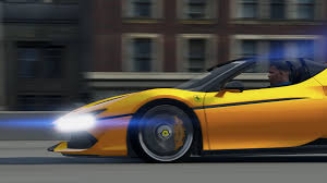 ferrari yellow and black 2017 ferrari j50 limited add on hq gta5 mods com