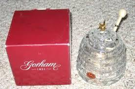 gorham serenade gorham garden serenade bee hive jar 35846352
