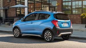 chevrolet spark 2017 chevrolet spark activ is a really tiny crossover wannabe