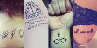 tattoo harry potter 14 idées pour les fans du sorcier