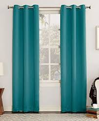 What Colour Goes With Teal For A Bedroom Curtains And Window Treatments Macy U0027s