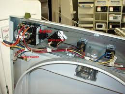 accessing front console dryers appliance aid
