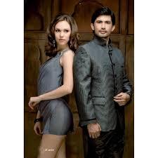 mens wedding suit indo western grey ref e207
