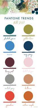 pantone color forecast 2017 fall 2017 pantone colors chart erika firm