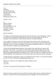 sample lawyer cover letter attorney cover letter format for