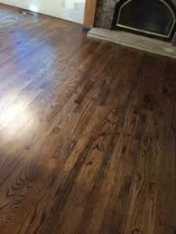 newly sanded 2 red oak hardwood flooring minwax espresso stain