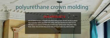 crown moulding polyurethane applique polyurethane trims ceiling
