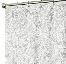 Blue Paisley Shower Curtain Paisley Shower Curtain Shower Curtain Rod