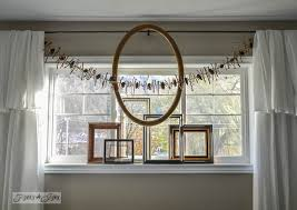 Christmas Decorations For A Window Sill by Make An All Season Twig Pinecone Garland For Free Funky Junk