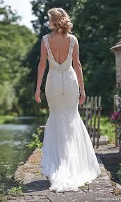 Cap Sleeved Crepe Sheath Wedding Dress David U0027s Bridal Cowl Back Wedding Dress Vosoi Com