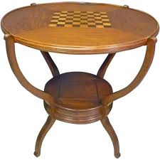 checkerboard u0026 parcheesi game table with flip top from