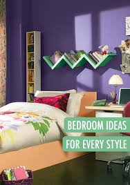 this fun and funky teen u0027s room has a beautiful color scheme