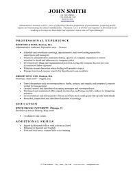 Excel Resume Template Resume Templates Resume Cv