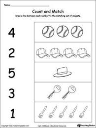 number counting worksheets teaching work pinterest