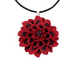 flower necklace etsy images Big flower necklace etsy jpg