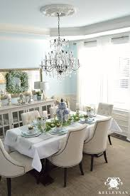 Easter Table Decor Blue And White Easter Table Kelley Nan