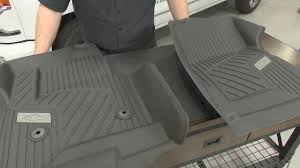 Chevrolet Silverado Gm Front Floor Liner Black Pair W O Manual 4x4