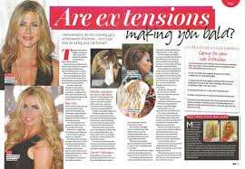hair extensions in hair glenn hair extensions look and feel amazing says now magazine
