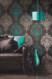 funky wallpaper silver wallpaper chairs and paper