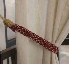 Curtain Rope Tie Backs 5 Pairs Rope Cord Curtain Tiebacks Holdback Braided Living Room