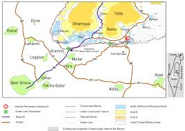 Border Patrol Checkpoints Map Temporalities And Perceptions Of The Separation Between Israelis
