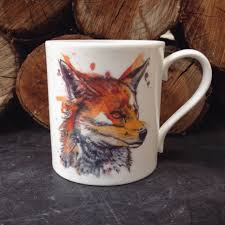 Fox Mug by Fox U0027 Mug U2013 Tori Ratcliffe Art