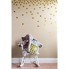 Gold Wall Decor by Wall Pops Wpd2137 Gold Confetti Dot Decals