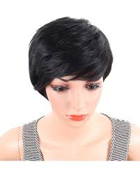 hair products for pixie cut short straight synthetic wigs pixie cut natural hair wig with