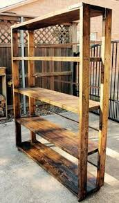 Building Wooden Bookcase by Beautiful Pallet Bookcase Pallets Pallet Projects And Woodworking