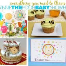 winnie the pooh baby shower decorations winnie the pooh baby shower ideas disney baby