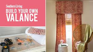 Valances Window Treatments by How To Make Your Own Window Valance Southern Living