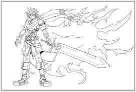 gorgeous kingdom hearts coloring pages page kingdom hearts