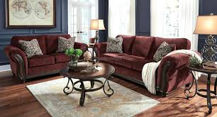 Burgundy Accent Chairs Living Room Burgundy Living Room Furniture Burgundy Sofa Pertaining To
