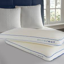 memory foam bed pillows pure rest living italian style luxury memory foam bed pillow