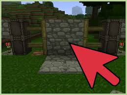 how to make an automatic piston door in minecraft with pictures