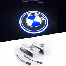 bmw easy installation car door led logo projector ghost shadow