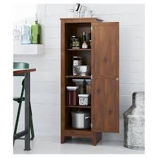 milford single door storage pantry cabinet pine altra target