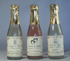 bulk sparkling cider mini chagne bottles for wedding favors personalized wedding