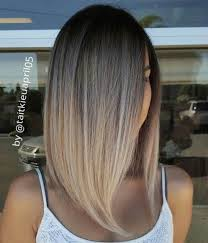 brown and blonde ombre with a line hair cut 70 best a line bob hairstyles screaming with class and style lob