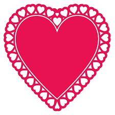 heart doily doily heart cutout 2 order