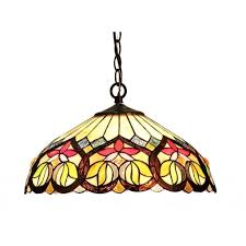 tiffany glass pendant lights chloe tiffany style victorian design dark antique bronze 2 light