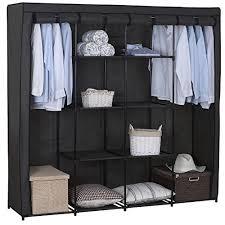 meuble penderie chambre armoire penderie chambre amazon fr