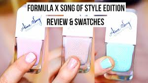 spring nail polish review aimee song song of style edition youtube