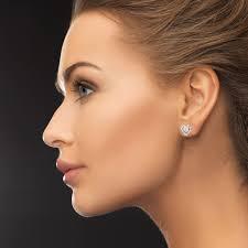 diamond stud size size diamond stud earrings stud earrings references